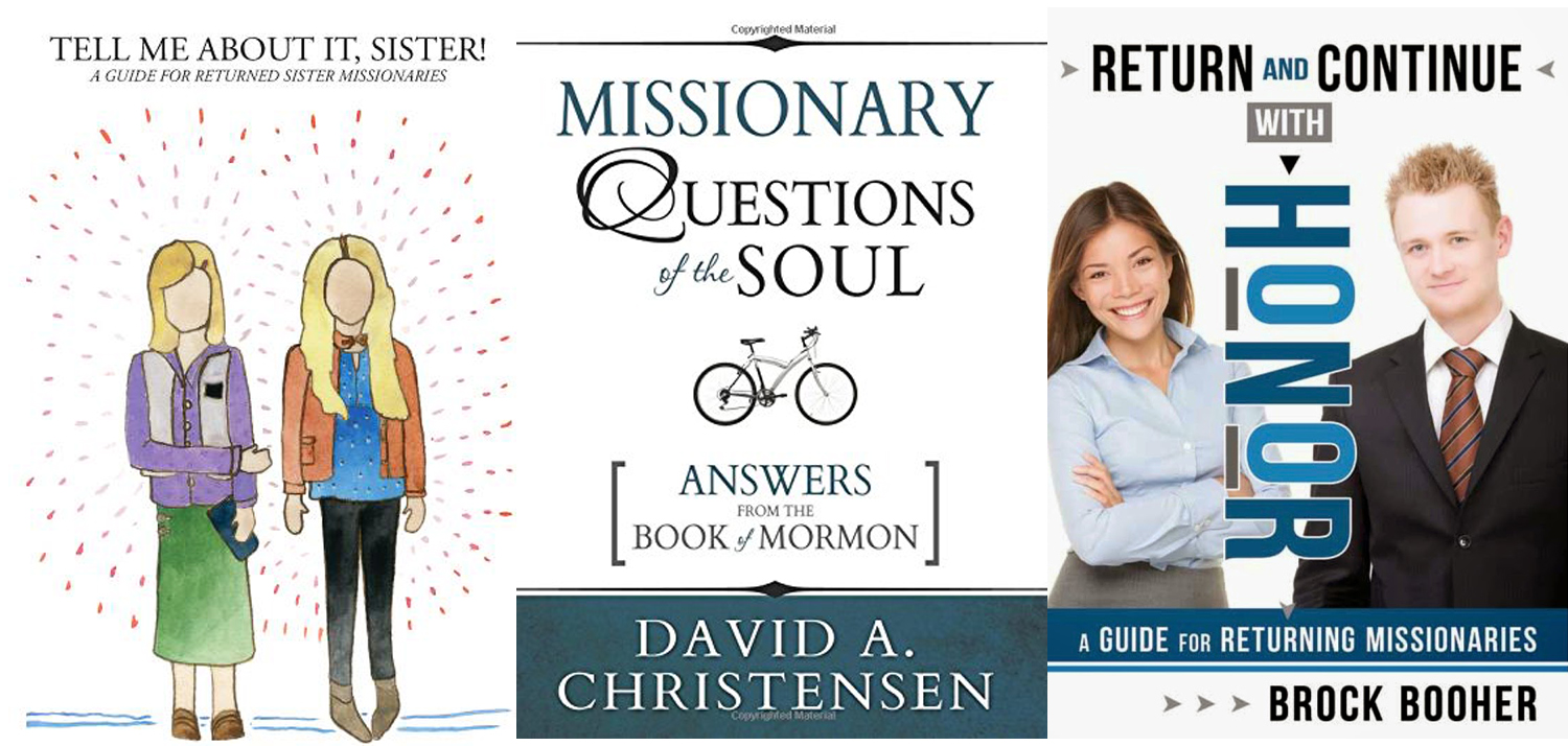 Three Books for Sister Missionaries Gift Idea